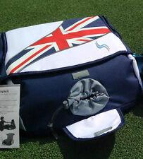 sitNsee Childrens Booster Seat Backpack & Drinks holder, Union Jack, Rucksack