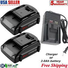 For Worx 20V 3.0Ah Wa3525 Li-ion Battery or Charger Wa3520 Wa3512 Wg151s Wg155s