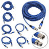 Weaving 3 Pin XLR Microphone Cable Male to Female Audio Extension Cord