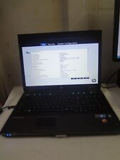 "HP EliteBook 8740w 17"" Core i5 2.4Ghz 8GB/160GB Webcam LINUX Laptop - NO BATTERY"