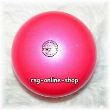 RSG Ball JUNIOR BALL Gymnastikball PINK metallic 150-170mm 300g NEU!