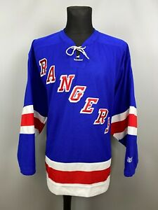 NEW YORK RANGERS SHIRT NHL HOCKEY JERSEY CCM MENS SIZE XL