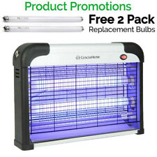 Lampe Anti Moustique UV LED Tue Mouches Destructeur D' Insectes Electrique 20W..