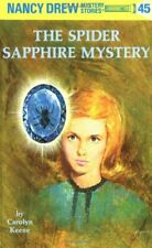 Nancy Drew 45: The Spider Sapphire Mystery by Drew, Nancy Hardback Book The Fast