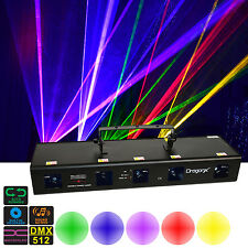 5 Lens DJ Lighting Laser RGBPY (Red Green Blue Purple Yellow) 920mW DJ Lasers