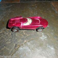 Original 1968 Base Hot Wheel Redline Turbofire Magenta Rose Pink Spectraflame