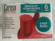 Caruso professional molecular steam rollers with shields 6 large ~ Sealed