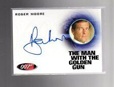 2016 James Bond Classics Autograph Roger Moore A 226 card #2