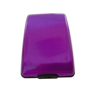 RFID Scan Protected Credit Card Holder Security Wallet Cool Hard Case