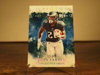 Miles Sanders 25/99 Philadelphia Eagles 2020 Panini Origins Card. 20 Parallel