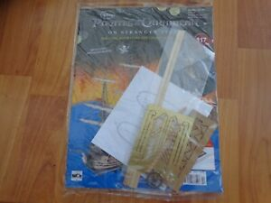 HACHETTE BUILD THE PIRATES OF THE CARIBBEAN BLACK PEARL SHIP ISSUE 117 INC PART