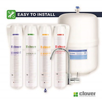 OPEN BOX WATER COOLER 3PH AQUVERSE-CLOVER HOT AND COLD DISPENSER  FILTRATION