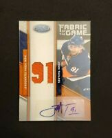 John Tavares SP /25 Fabric Of The Game Jersey Number Autograph FOTG Auto $69 OBO