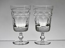 "Cc451 COPPIA Cumbria Crystal Helvellyn Medium 4 7/8"" bicchieri da vino"