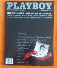 PLAYBOY MEN MAGAZINE NOVEMBER 1992 STEPHANIE ADAMS JOAN SEVERANCE RED SHOE