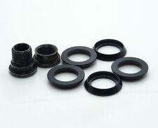 Sram CX1 ChainRing Spacers 5pc & Hidden Bolt/Nut Kit Alumium Black