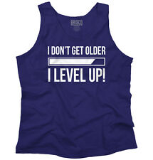 I Dont Get Older I Level Up Funny Gaming Gift Adult Tank Top T-Shirt Tees Tshirt