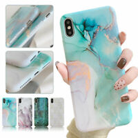 Marble Pattern Soft Silicone TPU Case Cover For iPhone X XR XS Max 8 7 6 6s Plus