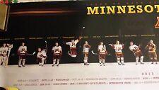 Minnesota Golden Gopher 2013-14 National Women'S Hockey Champions Poster.