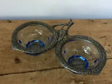 Britain Bowl Blue Art Deco Date-Lined Glass (c.1910-c.1939)
