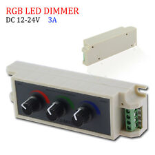 DC12V 108W Channel Dimmer Adjust Remote Controller For RGB 3528/5050 Led Strip