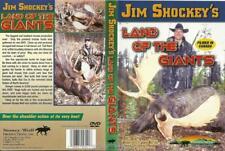 Jim Shockey Land of the Giants Moose Bull Hunting DVD NEW