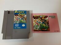 Bump N Jump (NES) Vic Tokai - With Manual