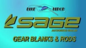 SAGE GEAR ROD BLANKS  (CASTING--CENTER PIN--SPINNING--SINGLE ACTION)