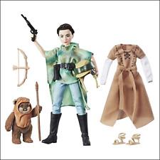 Star Wars Forces of Destiny - C1631EU40 - Poupée Princesse Leia et Peluche Ewok