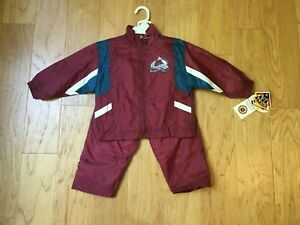 Colorado Avalanche NHL kids warm up suit Ice Hockey New w tags Baby winning goal