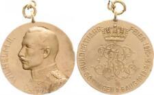 Messingmedaille Göttingen 100 Jahrfeier 5.-6. August 1913, Wilhelm II. ss  48698