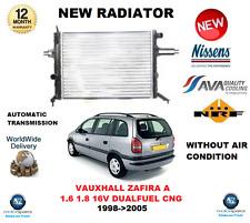 Per Vauxhall Zafira A 1.6 1.8 16v Dualfuel CNG 1998 - > 2005 RADIATORE OE Qualità