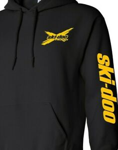 SKI-DOO style SNOWMOBILE Hoodie Sweatshirt CHOOSE DESIGN COLOR Ski Doo