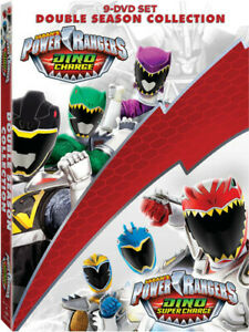 Power Rangers Dino Charge and Dino Super Charge Collection [New DVD] Boxed Set