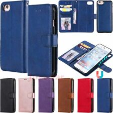 For iPhone SE 2 X 6 7 8 11 Pro Max Magnetic Detachable Wallet Leather Case Cover