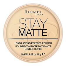 Rimmel London Stay Matte 14g Pressed Powder - Transparent
