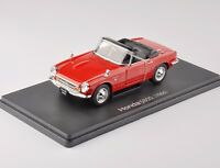 1/24 Scale Red Honda S800 1966 Classic Vehicle Diecast Convertible Car Model