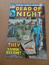 Dead Of Night  3 . Marvel 1974 . FN +