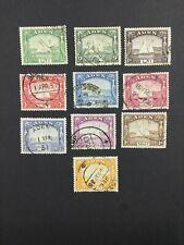MOMEN: ADEN SG #1-10 1937 USED £95 LOT #5004