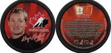 WAYNE GRETZKY 2002 OLYMPIC TEAM CANADA ICE HOCKEY MCDONALDS SOUVENIR PUCK