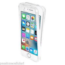 COVER Custodia Fronte Retro 360° SILICONE TPU TRASPARENTE Per iPhone 5 5S SE