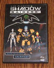 Shadow Raiders War Planets Vol. 4: Alliance Attack (DVD, 2001) ShadowRaiders NEW