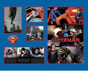 New Superman Signed Limited Edition Memorabilia Framed