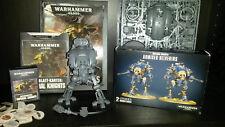 Warhammer 40k Imperial Knights + Helverins + Codex + Karten + Marker