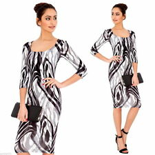 Viscose Boat Neck Wiggle, Pencil Dresses for Women
