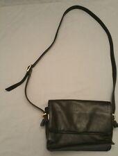 Vintage Ganson Black Patent Leather Cross Body Bag