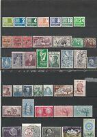 Wertvolles Lot Eire Irland ab 1921 postfrisch und gestempelt 39 Werte