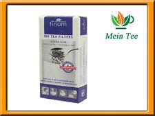 3x 100 unidades teefilter Finum XS papel filtro con lengüeta-colador de té