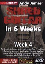 Fare clic su Libreria ANDY James Straccio Chitarra in 6 settimane di imparare a giocare Steve Vai DVD 4