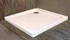 Dusche Duschwanne  90 x 90 mit Ablauf, montageart direkt auf dem boden